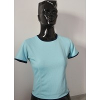 Maillot Femme NIKE DRI-FIT taille S bleu clair