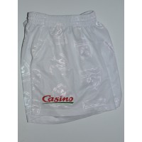 Short Enfant CORSE Casino Taille S (10ans) Blanc