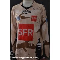Maillot ACA AJACCIO porté N°1 Coupe de France 2010 DUARIG