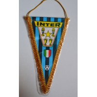 Ancien GRAND fanion INTER DE MILAN vintage