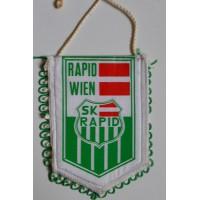 Fanion ancien SK Rapid Wien Autriche petit modèle