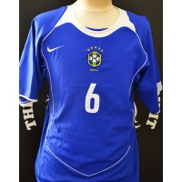 Maillot BRASIL CBF N°6 R.CARLOS Nike total 90 taille M