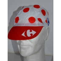 Casquette Adulte Carrefour à pois Tour de France