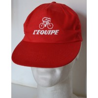 Casquette Collector de Cyclisme L&#39EQUIPE taille unique adulte