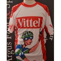 Maillot cyclisme Publicitaire VITTEL 100ème tour de France taill
