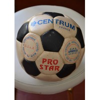 Ballon ancien à damier 32 panneaux CENTRUM FRANCE Pro star