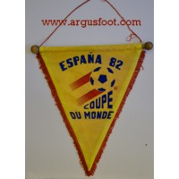 Fanion ancien ESPANA 82 COUPE DU MONDE vinage collection