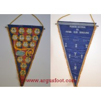 FANION ANCIEN  FUTBOL CLUB BARCELONA grand format
