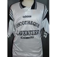 Maillot Football amateur CORSE CORTE porté N°5 taille XL