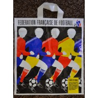 sachet plastique ancien FEDERATION FRANCAISE DE FOOTBALL