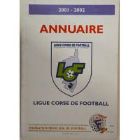 Annuaire LIGUE CORSE DE FOOTBALL 2001-2002