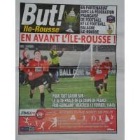 Magazine BUT spéciale ILE ROUSSE FBIR/GUINGAMP 8ème CDF