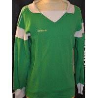 Maillot ADIDAS VENTEX porté N°6 vert