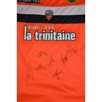 Maillot FC LORIENT BRETAGNE Taille XL signé par des joueurs