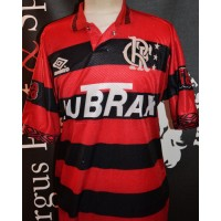 Maillot ancien C.R.FLAMENGO umbro Taille XL LUBRAX