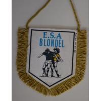 Fanion E.S.A BLONDEL  BOLLENE football amateur france ancien