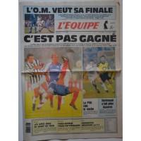Journal l&#39Equipe 48° année N°14 594 Mercredi 7 avril 1993