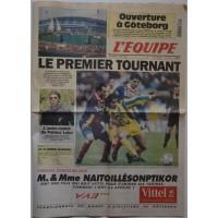 Journal l&#39Equipe 50 année N°15 318 Vendredi 4 Aout 1995