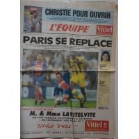 Journal l&#39Equipe 50° année N°15 319 Samedi 5 et 6 Aout 1995