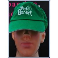 Casquette enfant MINI BASKET BALL verte