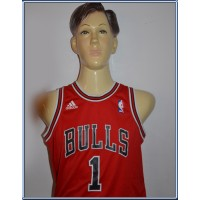 Ensemble Maillot + short Adidas BULLS N°1 ROSE Enfant taille 12a