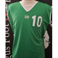 Maillot HAND BALL taille XL N°10 CASAL SPORT entrainement vert