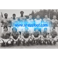 Photo authentique ancienne O Ajaccio Equipe DH Football CORSE
