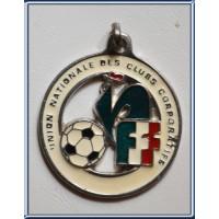 Médaille ancienne FFF UNION NATIONALE DES CLUBS CORPORATIFS