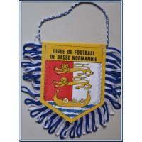 Fanion FFF LIGUE DE FOOTBALL DE BASSE NORMANDIE