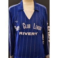 Maillot SUPPORTER CLUB LENSOIS RIVERY porté N°2 ADIDAS Ventex