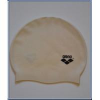 Bonnet de natation piscine ARENA taille adulte unique blanc