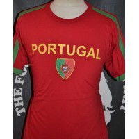 Tee shirt PORTUGAL N°10 TAILLE L Nation of Football 2012
