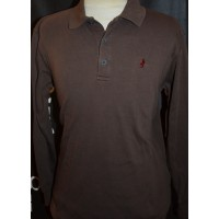 Polo MARLBORO CLASSICS authentic quality label taille M marron