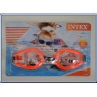 Paire de lunettes de Natation INTEX neuve dans sa boîte ORANGE