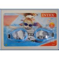 Paire de lunettes de Natation INTEX neuve dans sa boîte BLEU