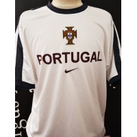 Maillot Officiel F.P.F PORTUGAL Nike taille L blanc