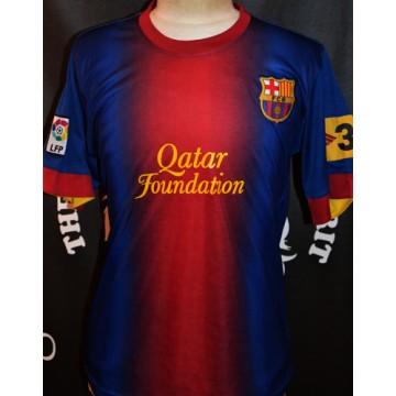 Maillot F.C.B BARCELONE LFP taille L Qatar Foundation