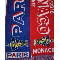 Echarpe PARIS SG/AS MONACO finale coupe de France 2010