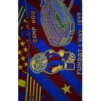 Echarpe F.C.B BARCELONA LA HISTORIA CONTINUA UEFA