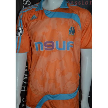Maillot MARSEILLE OM N°6 ZIANI patch UEFA taille XL ADIDAS