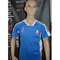 Maillot Enfant FRANCE UEFA EURO 2008 taille 10ans (ME406)