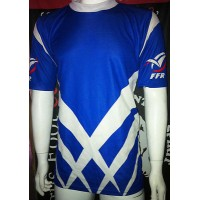 Maillot ancien RUGBY Equipe nationale FRANCE espoir porté N°23