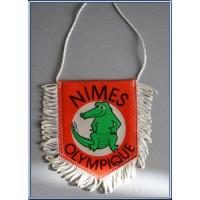 Fanion ancien NIMES OLYMPIQUE petit modèle