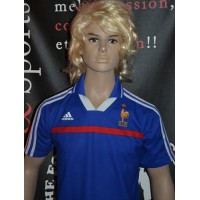 Maillot Enfant FRANCE F.F.F Adidas Taille 12ans (ME429)