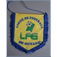 Fanion ancien LFG LIGUE DE FOOTBALL DE GUYANE grand format