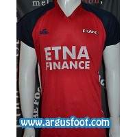 Maillot equipe FRANCE BEACH Soccer LEAGUE porté N°5 FAYE