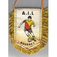 Fanion A.I.L ROUSSET football amateur petit modèle