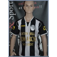 Maillot Enfant AS NEBBIU CONCA D&#39ORU taille 12ans N°9 (ME441)