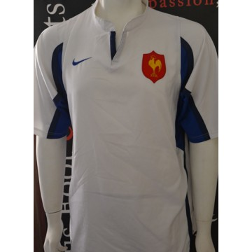 sale uk 2018 shoes fast delivery Maillot Rugby F.F.R Equipe de FRANCE Taille XL Nike blanc