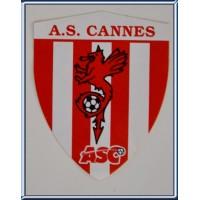 Autocollant ancien A.S.CANNES ASC sticker